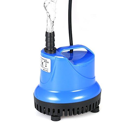 Galapara Bomba Sumergible, 1800L / H 25W Bomba de Agua Ultra Silenciosa para Pecera Acuario Jardín Estanque Fuente