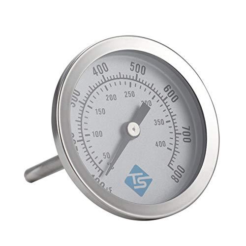 mementoy Termómetro de horno de acero inoxidable Termómetro de carne de cocina Termómetro de cocina