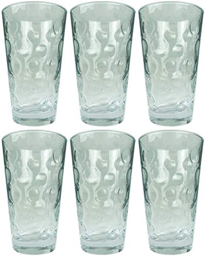 Novaliv 6X Schoppenglas Dubbe 0,5 L Dubbeglas Apfelweingläser Saftgläser Schorleglas Duppenglas Dubbegläser Weingläser Weißweingläser