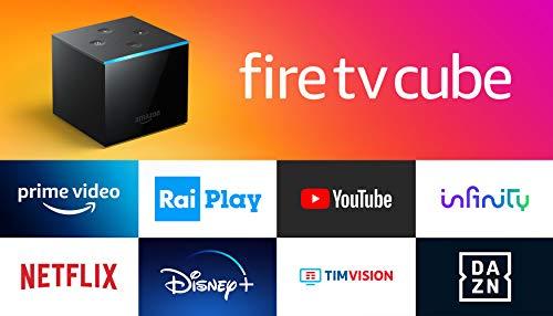 Presentiamo Fire TV Cube | Lettore multimediale per lo streaming con controllo vocale tramite Alexa e 4K Ultra HD