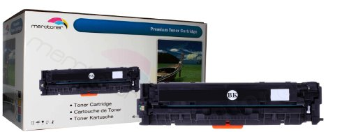 Merotoner® Toner kompatibel zu HP Color LaserJet CE320A-CE320A, 128A HP CLJ CP1525, CP-1525n/nw, CM1415, CM-1415fn/fnw, CM1415, CM-1415MFP SCHWARZ