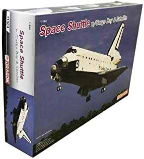 Dragon Models 11004 1:144 Space Shuttle w/Cargo Bay and Satellite