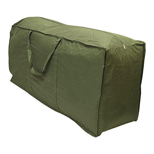 Große Weihnachtsbaum Lagerung Tasche mit Griff von yunhigh - wasserdicht Schwerlast Armee grün 14ft