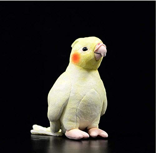 NC56 Plüschtiere Mini Nymphensittich Plüschtiere Weich Papageien Kuscheltiere Spielzeug Reastische Vögel Gefüllte Puppen Geschenke für Kinder 16cm-19cm1