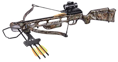 CenterPoint XR175 Recurve Crossbow Package, Camo