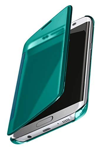 MoEx® Funda Protectora Fina Compatible con Samsung Galaxy S7 Edge | Cristal...