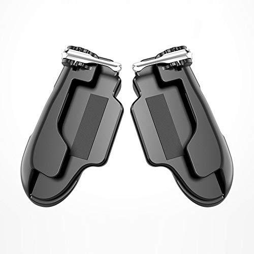 deYukiko Pubg Mobile Controller für Tablet Feuertaste Zieltaste Auslöser R1 L1 Shooter schwarz