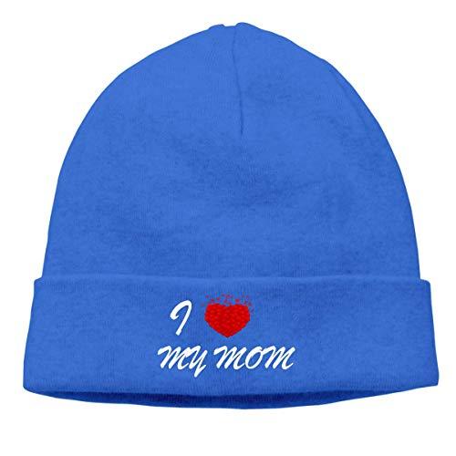Lawenp Ich liebe meine Mutter Neutral Warme Wintermütze Gestrickte Mütze Urinal Hut...