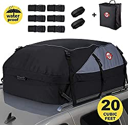 Top 5 Best Waterproof Roof Top Bag For Traveling In The UK 2021