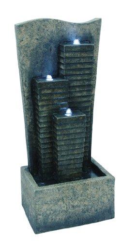OK LIGHTING FT-1139/3L Zen Water Fountain with 3 LED Light