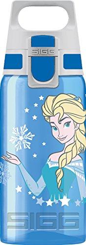 SIGG VIVA ONE Elsa, Kinder Trinkflasche, 0.5 L, Polypropylen, BPA Frei, Blau