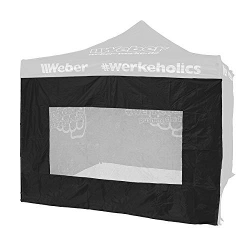 Weber GmbH Seitenwand mit Sichtfenster für Easy-Up Zelt 3 x 3 m