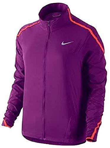 Nike Damen IMPOSSIBLY Light JKT Training Regenjacke, Violett/Orange, L