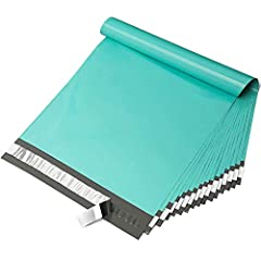 【Special Color】These poly mailers were teal outer surface, grey inner lining,so it looks brighter than others.Make your package more attractive to customers and more mysterious. 【Absolute confidentiality】Tear resistance self sealing envelopes,strong ...