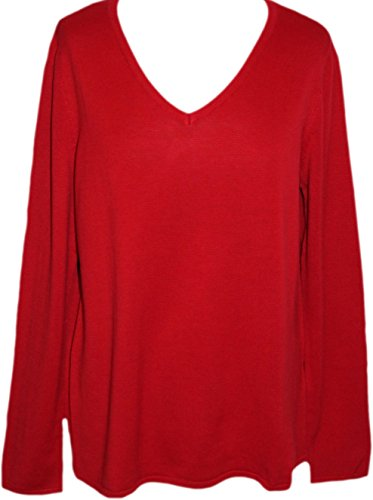 sheego Casual -  Maglione - Donna rot 56