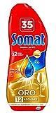 Somat Gold Spülmaschinen Gel Essig–35Wäschen (630ml)