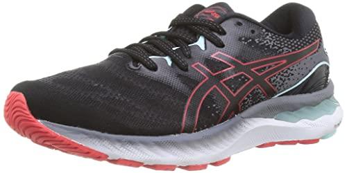 Asics Gel-Nimbus 23, Zapatillas para Correr Hombre, Black/Electric Red, 45 EU