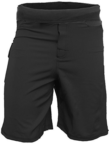Epic MMA Gear WOD Shorts for Men Agility 4.0 (34, Black)