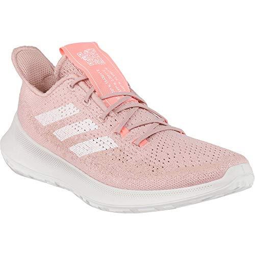 adidas Women's Sensebounce + Summer Ready Running Shoe, Pink Spirit/White/Light Red, 5 M US