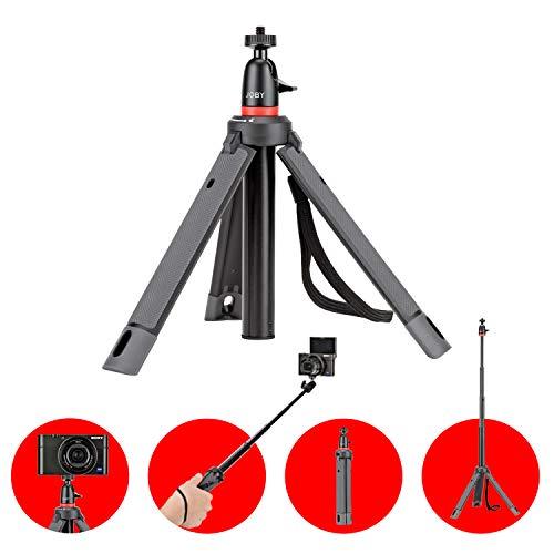 JOBY JB01549-BWW TelePod 325 ausziehbares Einbein-/Teleskopstativ Selfie Stick (mit Kugelkopf, CSC, Kompaktkameras, Action-Kameras. Vlogging-Kit)