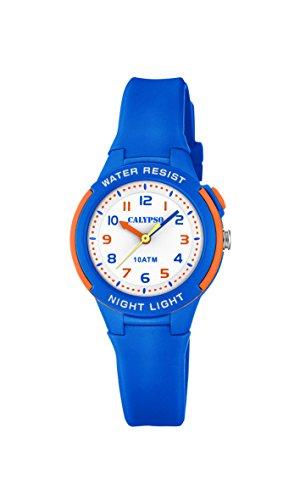 Calypso Unisex Kinder Analog Quarz Uhr mit Plastik Armband K6069/3