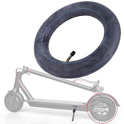 Weikeya Neumático de inflado ligero, material de goma de butilo para neumático inflable Mijia M365 Scooter eléctrico (negro)
