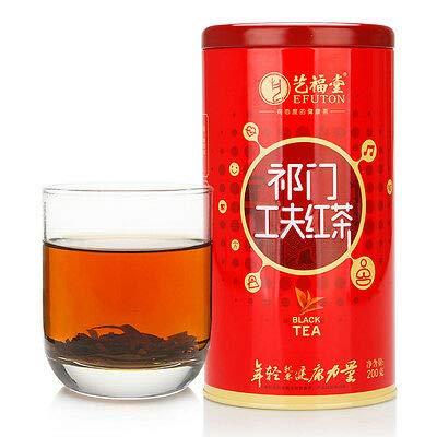 红茶 congou 中国茶艺福堂中国茶包邮特级工夫红茶茶叶祁门红茶正宗浓香型 200g/罐