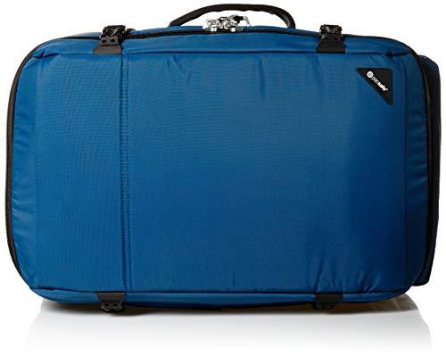 Pacsafe Vibe 40 - Anti-Diebstahl Rucksack, Diebstahlschutz Reiserucksack, Handgepäck 40 Liter, Blau / Eqlipse