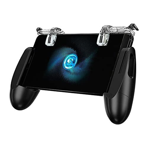 Controladores F2 Firestick Grip Joystick Mobile Game Controller para iOS y Android Teléfono Gamepad con Disparos de Disparador Botones Controladores de conmutación
