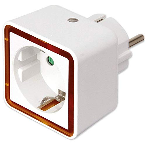 REV Ritter Nachtlicht LED Mini-Adapter, weiß 0029300003