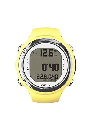 Suunto Dive D4i Novo, 0.177, Color Amarillo
