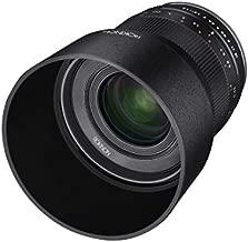 Rokinon 35mm F1.2 High Speed Wide Angle Lens for Sony E-Mount - Black - Sony E