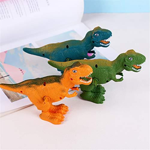 ERUYN Neuheit Dinosaurier Aufziehspielzeug Uhrwerk Gehen Kinder Klassisches Lernspielzeug Zufällig