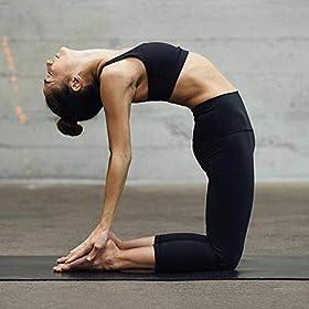 HLTPRO High Waist Capri Yoga Leggings with Pockets for Women – Tummy Control Workout Fitness Pants