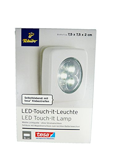 Tchibo TCM LED Touch IT Lampe selbstklebend Mobile Leuchte ohne Strom