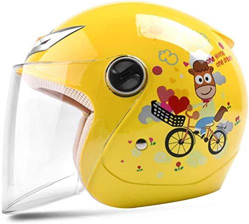 XZ Casco portátil para niños Bicicleta Niño Niña Bebé Cuatro estaciones Casco...