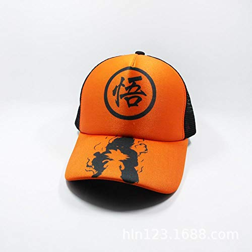 JJZZ Baseball cap Dragon Ball Hut Goblin King Sun Wukong Sun Hat Anime Peripherie Outdoor Sport Männer Und Frauen Mützen Dragon Ball 3