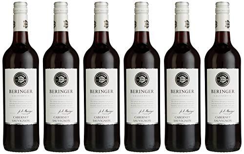 Beringer Classic Cabernet Sauvignon 2018 Kalifornien Rotwein trocken (6 x 0.75 l)