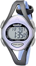 Timex Women's T5E511 Ironman Sleek 50 Mid-Size Purple/Gray Resin Strap Watch