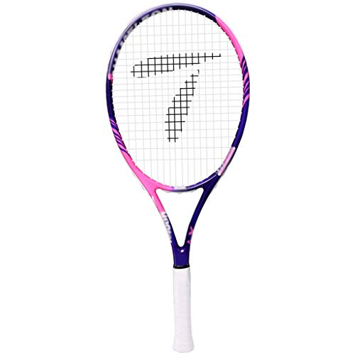 Raqueta de Tenis: Raqueta de Tenis de 27 Pulgadas (Aproximadamente 68,5 cm), Raqueta de Tenis Profesional, Buen Mango de Control (4 3/8)