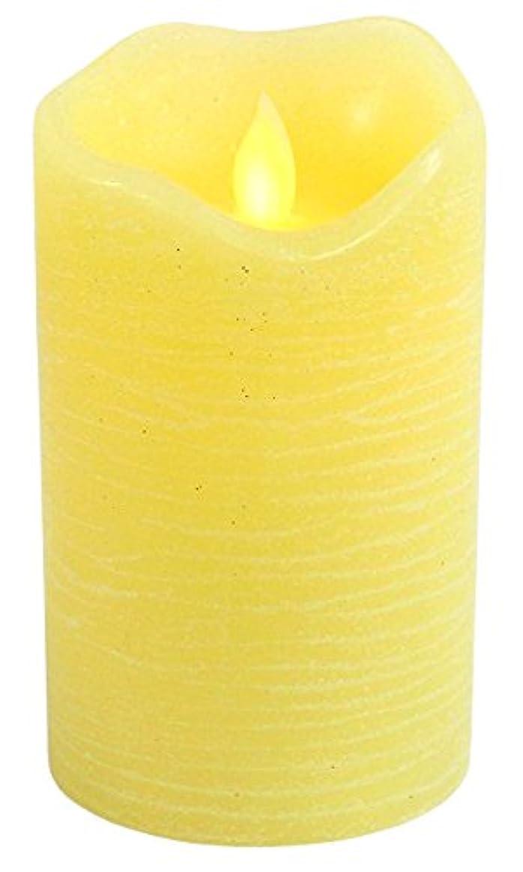 証明書著者買い物に行くリアルフレイム LEDキャンドル キャンディ イエロー CL020