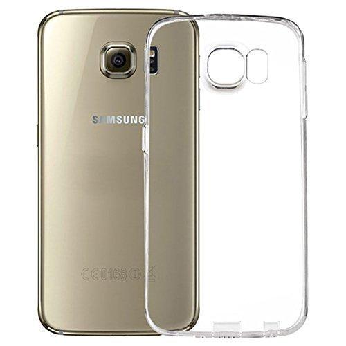 LONVIPI YourCover Galaxy S6 - Custodia Protettiva Trasparente in TPU per Samsung Galaxy S6, Trasparente