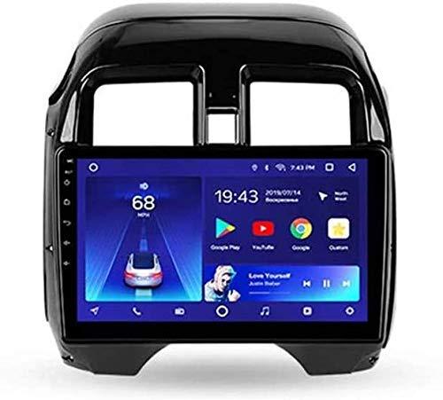 Android Car Stereo Radio Double DIN Sat Nav Compatible con Nissan L Atio N17 2014-2016 Unidad Principal navegación GPS Reproductor Multimedia Receptor Video con 4G DSP Carplay