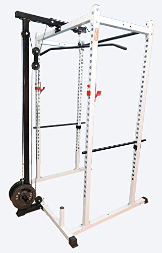 TDS LAT/Row Attachment Power Racks - Olympic Plates