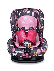 FORWARD FACING – Moova 2 is suitable from 9 kg-18 kg (9 months – 4 years approx.); it fits forward-facing with a standard 3-point vehicle seat belt. ANTI-ESCAPE – It features the exclusive Five Point Plus Anti-Escape system plus side impact protectio...