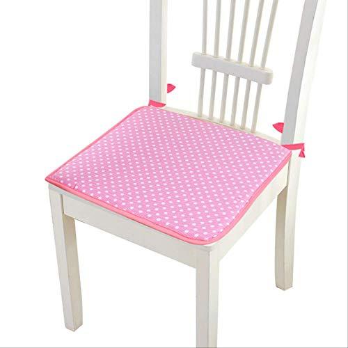 LEELFD Stuhl Sitzlehnenkissen Keep Worm Home Dekoratives nordisches Schleifmaterial Stühle Sofa Adult Kindersitzkissen 2 Stück rot