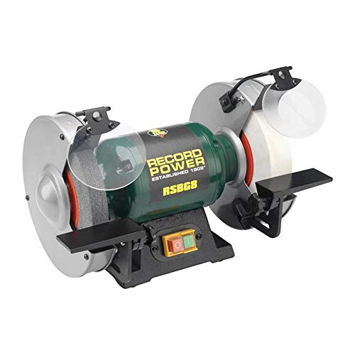 Record Power RPBG6 Bench Grinder 6-inch