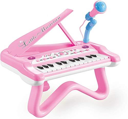XINRUIBO Juguete Piano Niñas Niñas Teclado de Chicas, con Modos de música...