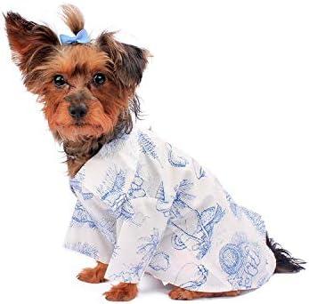 Amazon.com : Hawaiian Matching Pattern Dog Aloha Shirt in Tropical ...