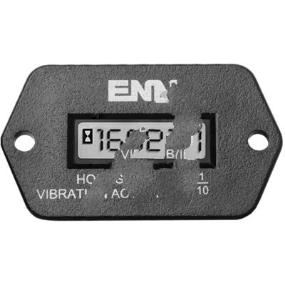 ENM Company T56C1 , HOUR METER, VIBRATION ACTIVATED, WATERPROOF, RECT PANEL MT, 8 YR BATTERY